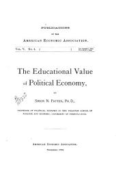 The Educational Value of Political Economy