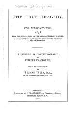 Shakespeare-quarto Facsimiles: Volume 38