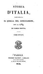 Storia d'Italia continuata da quella del Guicciardini sino al 1789: Volume 8
