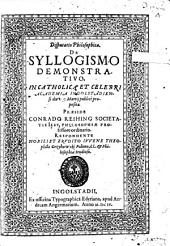 De syllogismo demonstrativo