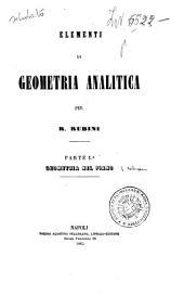 Elementi di geometria analitica: Geometria nel piano, Parte 1