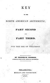 Key to the North American Arithmetic: Part Second and Part Third, for the Use of Teachers