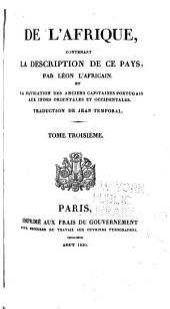 Histoire de l'Éthiopie. Discours sur les lettres et ambassades des très-hauts et très-puissants rois de Portugal et d'Éthiopie. Problème historial sur la crue du Nil
