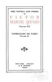 The Novels and Poems of Victor Marie Hugo: Volume 2; Volume 7