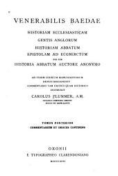 Historia ecclesiastica gentis Anglorum: Volume 2
