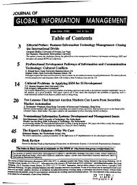 Journal of Global Information Management PDF
