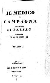 Il medico di campagna. Traduzione di Giovanni-Battista Menini: Volume 3;Volume 9
