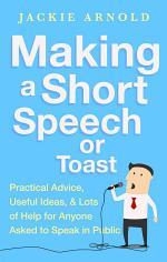 Making a Short Speech or Toast