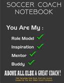 Soccer Coach Note Book