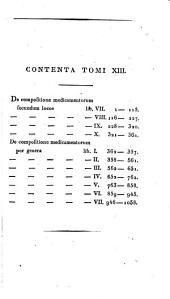 GKlaudíou Galynoû ắpanta. C. Galeni opera omnia. Ed. C.G. Kühn: Volume 13