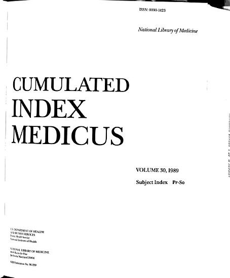Cumulated Index Medicus PDF
