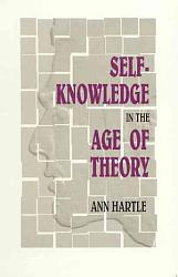 Self Knowledge In The Age Of Theory Book PDF