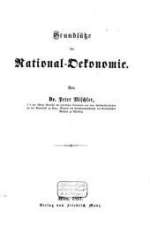 Grundsätze der National-Oekonomie