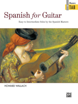 Spanish for Guitar  Masters in TAB PDF