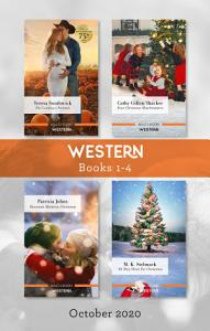 Western Box Set 1 4 Oct 2020 The Cowboy s Promise Four Christmas Matchmakers Mountain Mistletoe Christmas All They Want for Christmas Book