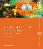 Social and Cultural Anthropology  The Key Concepts PDF