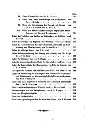 Annalen der Pharmacie: Band 109