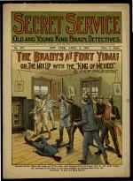 The Bradys at Fort Yuma; Or, The Mix Up with the