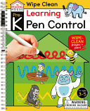 Learning Pen Control (Pre-K Wipe Clean Workbook)