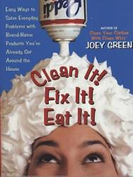 Clean It Fix It Eat It  Book PDF