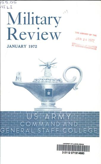 The Military Review PDF