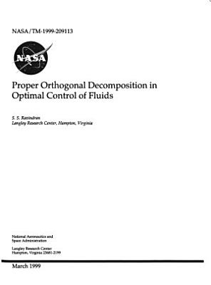 Proper Orthogonal Decomposition in Optimal Control of Fluids