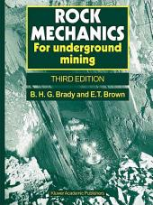 Rock Mechanics: For underground mining, Edition 3