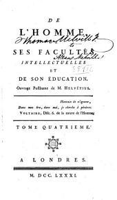 Œuvres complettes de M. Helvétius: Volume4