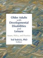 Older Adults with Developmental Disabilities and Leisure PDF