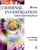 Criminal Investigation PDF