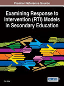 Examining Response to Intervention (RTI) Models in Secondary Education