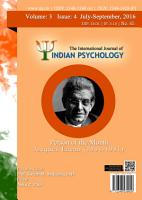 The International Journal of Indian Psychology  Volume 3  Issue 4  No  65 PDF