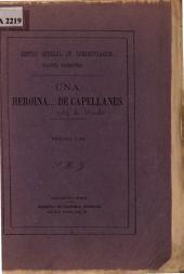 Una heroina_ de capellanes: comedia en tres actos y en prosa