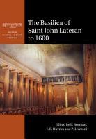 The Basilica of Saint John Lateran to 1600 PDF