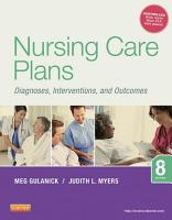 Nursing Care Plans   E Book PDF