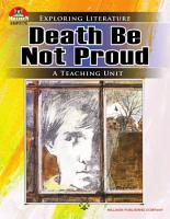 Death Be Not Proud  eBook  PDF