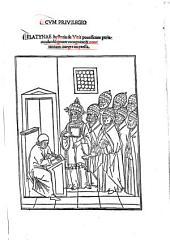 Platinae Historia de Vitis Pontificum