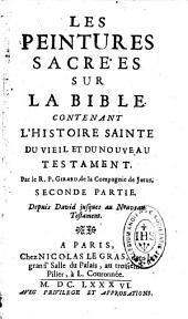 Les Peintures sacrées sur la Bible