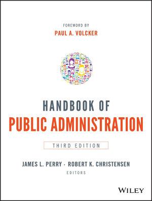 Handbook of Public Administration PDF
