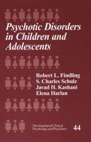 Psychotic Disorders in Children and Adolescents PDF