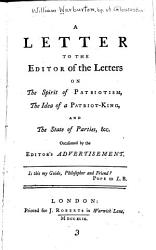 A Letter To The Editor Of The Letters Book PDF
