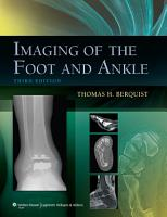 Imaging of the Foot and Ankle PDF