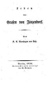 Leben des Grafen von Zinzendorf