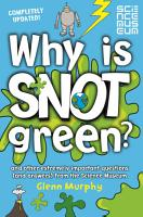 Why is Snot Green  PDF