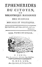Ephémérides du citoyen, ou Chronique de l'esprit national