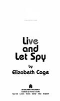Live and Let Spy PDF