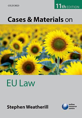 Cases and Materials on EU Law PDF