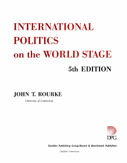 International politics on the world stage PDF
