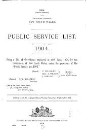 Public Service List
