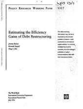 Estimating the Efficiency Gains of Debt Restructuring